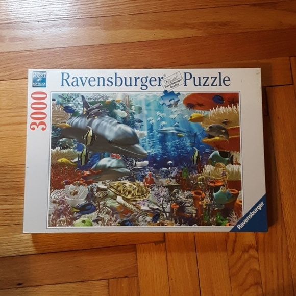82c4d8807cb Ravensburger Other | Puzzleocean Wonders 3000 Pcs | Poshmark
